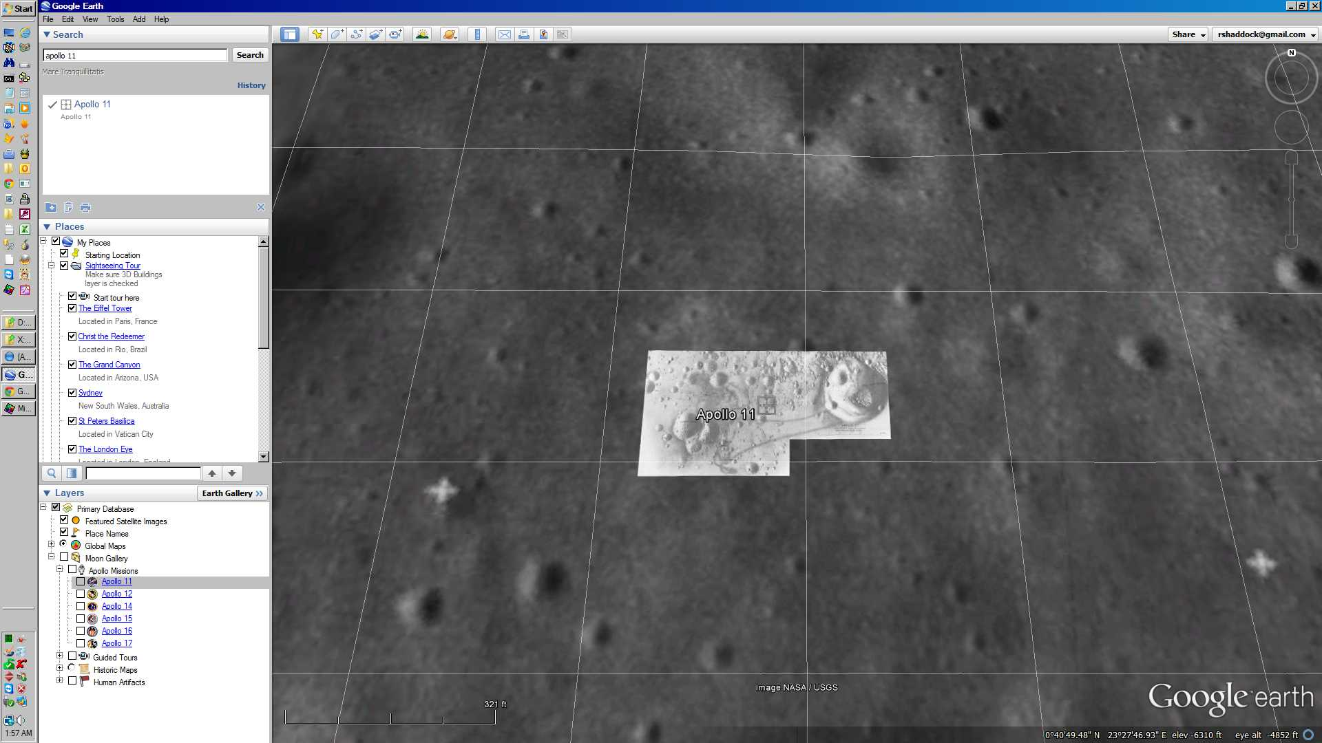 If you want to see credible Apollo landing sites, use Google Earth!